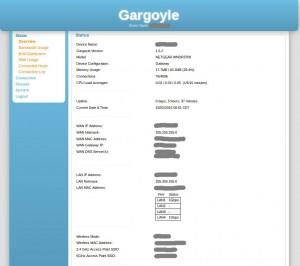 Gargoyle-WebInterface